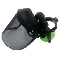 Щиток захисний для бензокоси сітка з навушниками InterActive