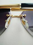 Солнцезащитные очки авиаторы женские капля черные с градиентом , Kaizi 605, фото 5