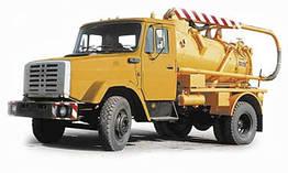 Илососная машина КО-503ИВ-8 (КО-510) на шасси КамАЗ-53212/53213