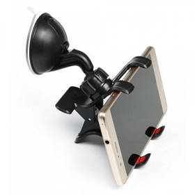 Универсальный держатель для мобильного телефона в автомобиль GBX 1028 на 2 зажима