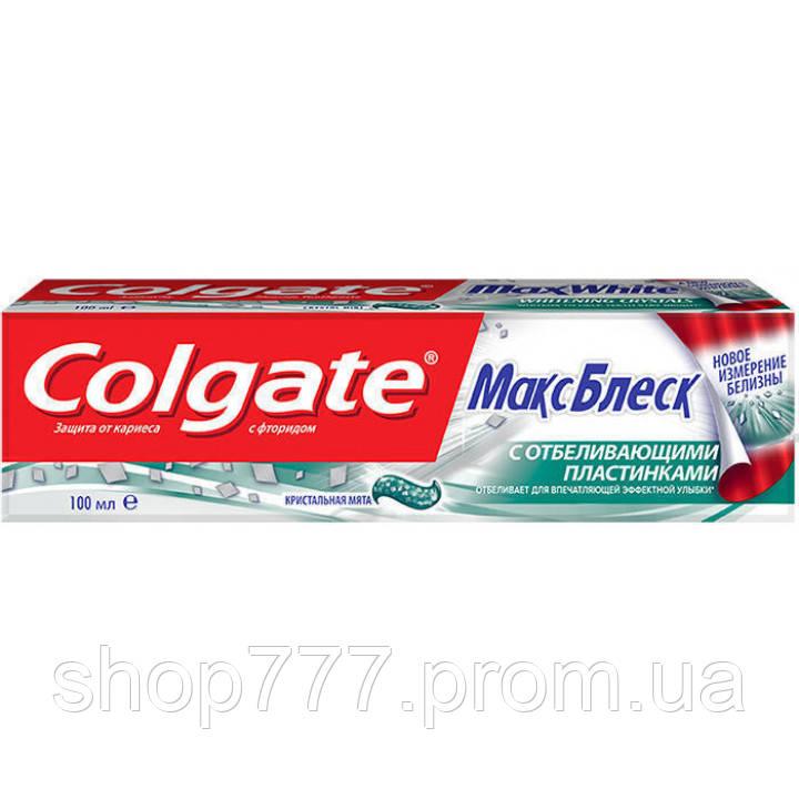 Colgate Зубная паста МаксБлеск 100 мл