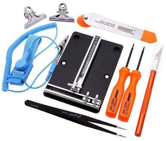 Монтажный столик с набором инструментов Jakemy JM-1102