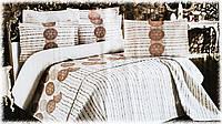 """Покривало жакардове з наволочками My Bed """"Linda"""" 240х260 см, фото 1"""