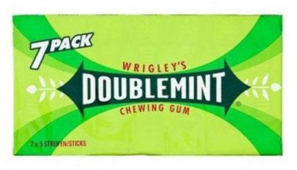 Жуйка Wrigleys Doublemint 7 шт
