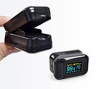 Оксиметр ELERA SH-С8 пальчиковый пульсометр измерение кислорода в крови. Цветной OLED экран. Звуковой сигнал
