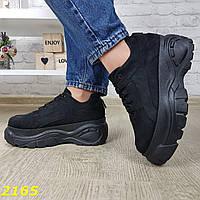 Кроссовки замшевые черные на высокой платформе буффало,перед заказом узнать наличие размера у продовца или в прайсе ,  ПРАЙС ЛИСТ И НАЛИЧИЕ РАЗМЕРОВ
