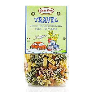 Макарони DALLA COSTA Travel Pasta з томатом і шпинатом 250 г 12 шт/ящ 8111