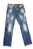 Джинсы мужские Crown Jeans модель 2551 (9816) (190) (453)