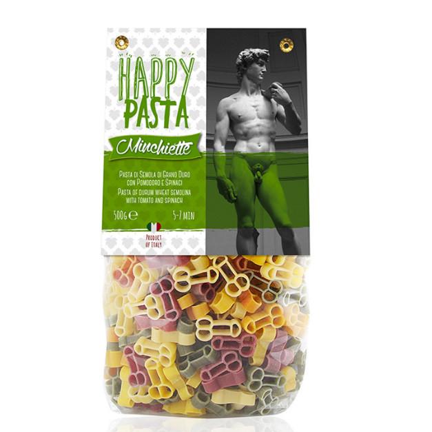 Макарони DALLA COSTA Happy Pasta Sex 500г 12шт/ящ 4022