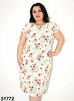 Женское легкое платье на каждый день 48 50,52,54,56р ОПТ/Розница