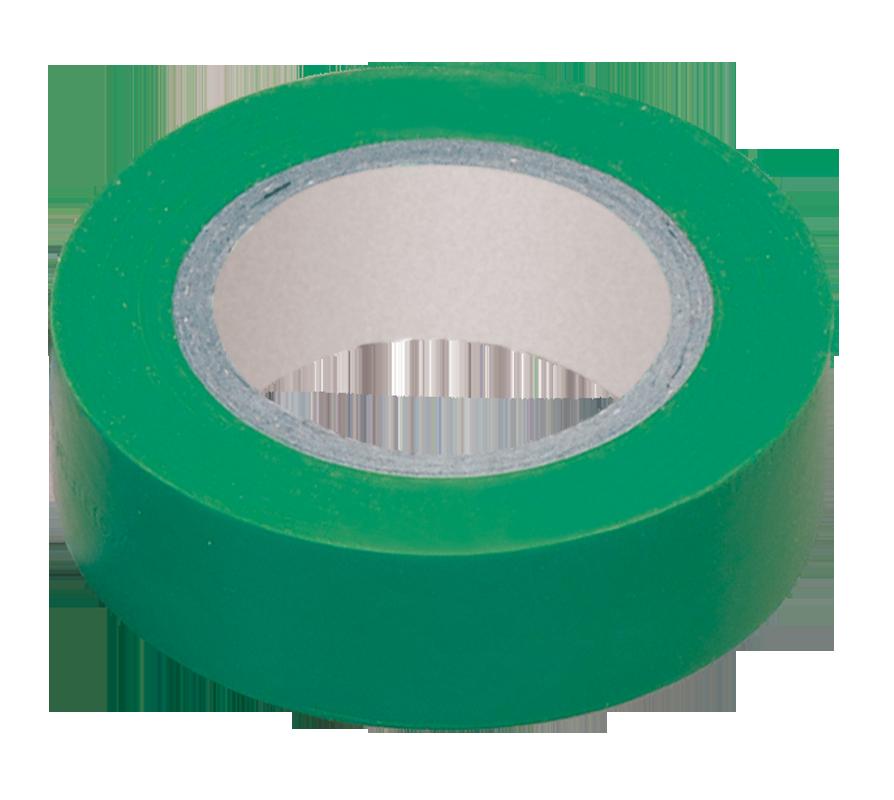 Изолента 0,18х19 мм зеленая 20 метров IEK (UIZ-20-10-K06)