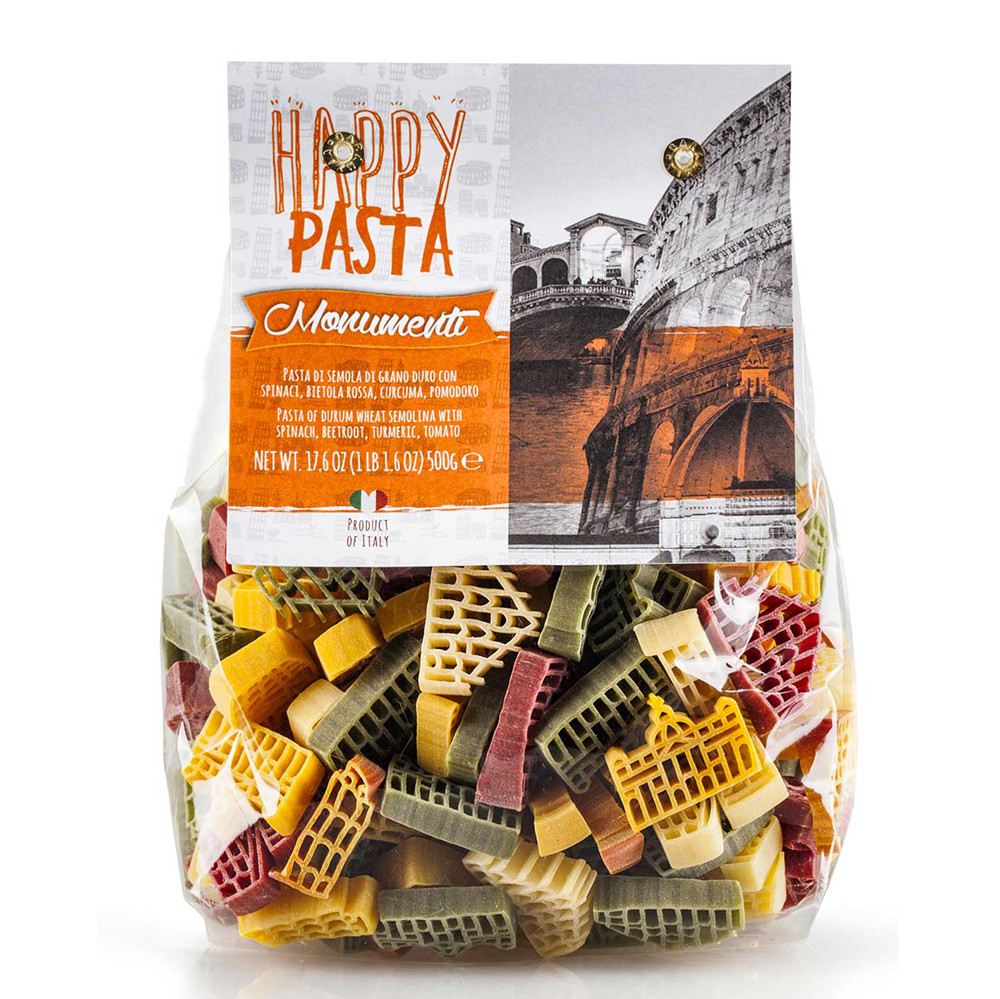 Макарони DALLA COSTA Happy Pasta Monumenti Italiani 500 г 12 шт/ящ 5035