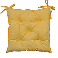 Подушка на стул Желтая Прованс 40х40 см
