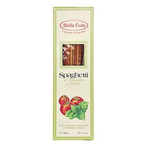 Макарони DALLA COSTA Spaghetti tricolor з томатом і шпинатом 500 г 20 шт/ящ 0247