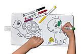 Фломастеры для малышей MALINOS Babyzauber 10 шт + моющаяся мягкая раскраска, фото 8