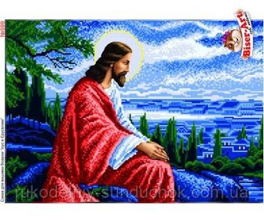 Схема для вишивки бісером (хрестиком) Бисер-Арт Ісус в Єрусалимі (599)