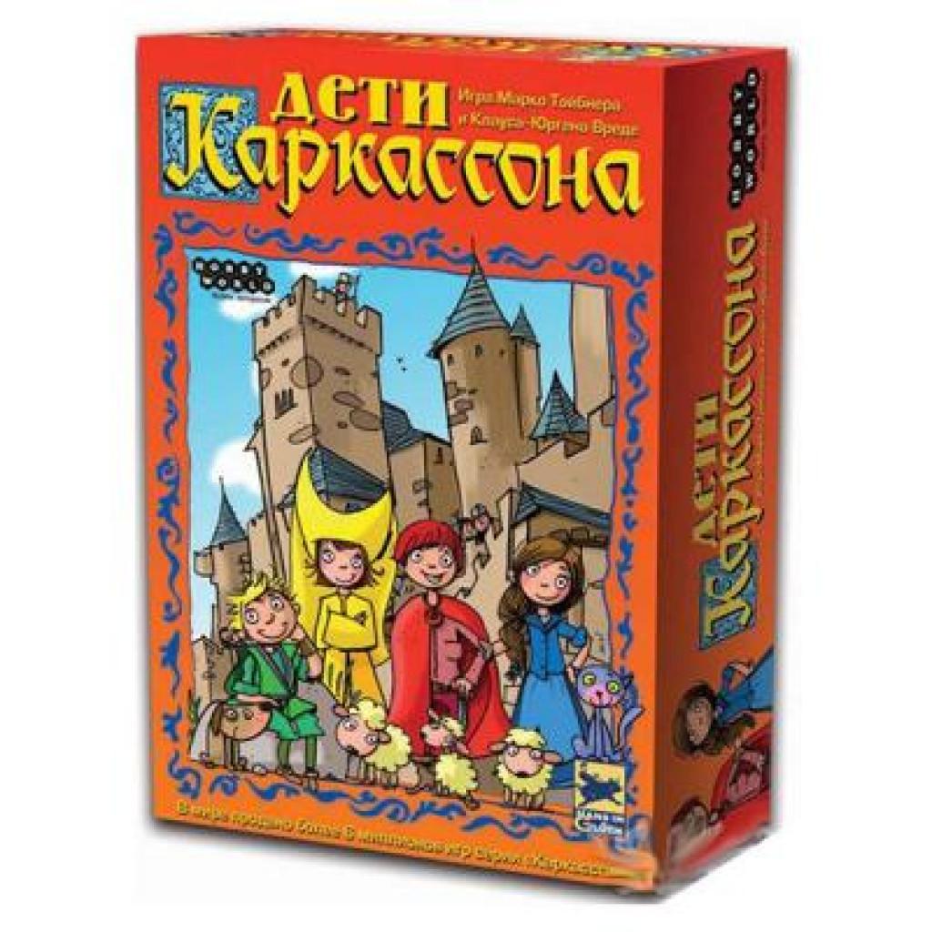 Настольная игра Hobby World Дети Каркассона (новая версия) (1096)