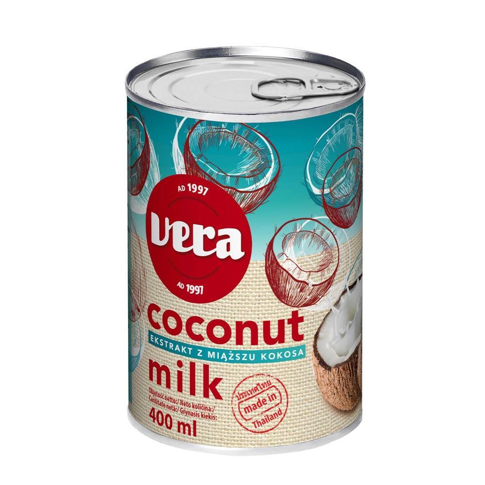 Кокосове молоко Limpol 400мл, Coconut milk, 24 шт/ящ