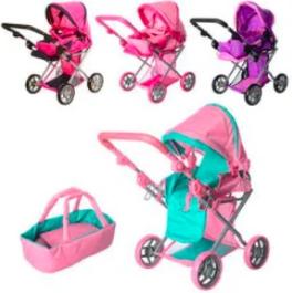Дитячі іграшкові коляски