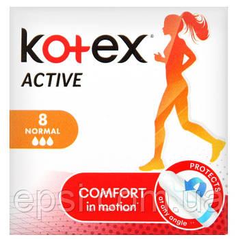 Гигиенические тампоны Кotex Active Normal, 8 шт