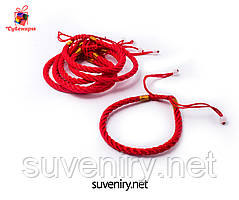 Браслет червона нитка від пристріту