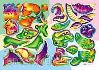 Динозаври. Розвивальні наліпки з логічними завданнями, фото 2