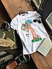 Женская футболка с разными принтами (Качество Люкс) М-3-0520, фото 9