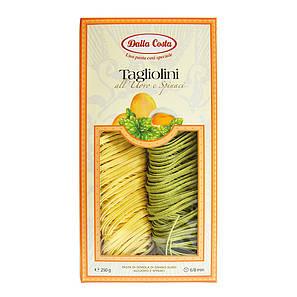 Макарони DALLA COSTA Tagliolini з яйцем і шпинатом 250 г 10 шт/ящ 2234