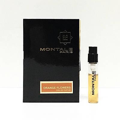 Нішева парфумерія пробник унісекс MONTALE Flowers Orange 2ml ОРИГІНАЛ ( Апельсинові Квіти Монталь )