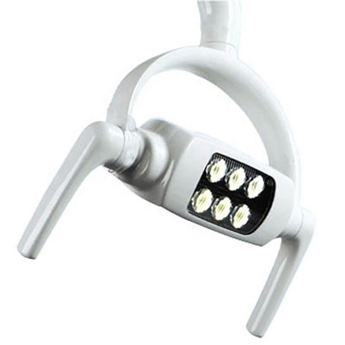 Безтіньовий стоматологічний світильник на 6 ламп.