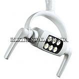 Безтіньовий стоматологічний світильник на 6 ламп., фото 4