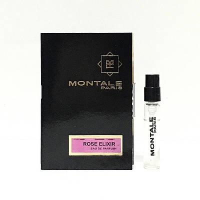 Парфюмерия Montale оригинал женские духи Elixir 2ml пробник (Розовый Эликсир) цветочно-фруктовый аромат