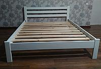 Ліжко  Класичне двохспальне 160х200 см біле / Кровать Классика двухспальная 160x200 см белая