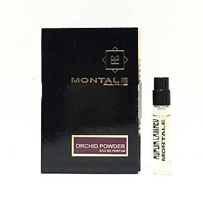 Пробник унісекс оригінал MONTALE Orchid Powder 2ml (Монталь Орхідея Пудра), квітково-пудровий аромат