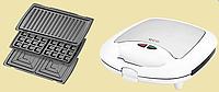 Сендвічниця 3 в 1 ECG S 399 white, фото 1