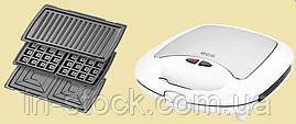 Сендвічниця 3 в 1 ECG S 399 white
