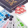 Лото настольная игра в металлической коробке T9011 (90дер.боч, 24карт, 40пл.фиш, р-р 45x12,5x4см)