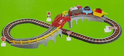 Железная дорога с поездом, 90х38 см, (9902)