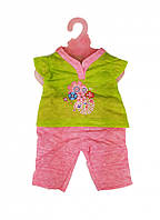 Кукольный наряд DBJ-455-468 (Салатовый с цветами)