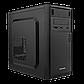 Корпус Logicpower 6103-400w 8см, 2хUSB2.0, Black, фото 2