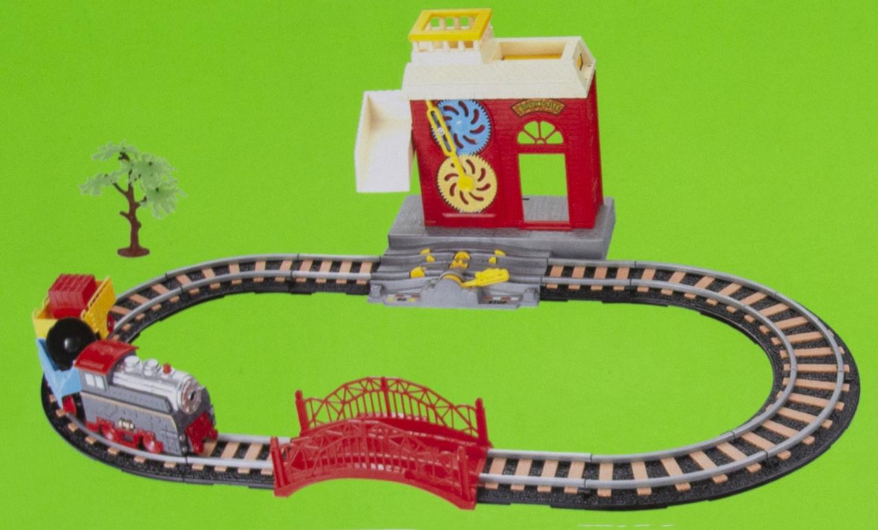 Игровой набор Железная дорога с поездом, 66х36см, (9905)