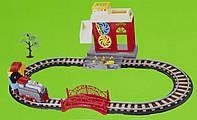 Игровой набор - Железная дорога с поездом, 66*36 см, пластик (9905)