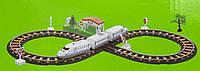 Игровой набор - Железная дорога с поездом, 78*36 см, пластик (9913)