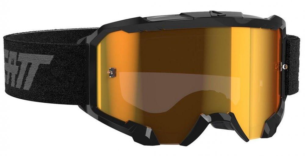 Очки кроссовые LEATT Velocity 4.5 Iriz Bronz 22% Black