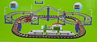 Железная дорога с поездом и машинкой, 90х58 см, (9916)