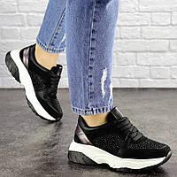 Женские черные кроссовки Pancho 1693 (36 размер), фото 1