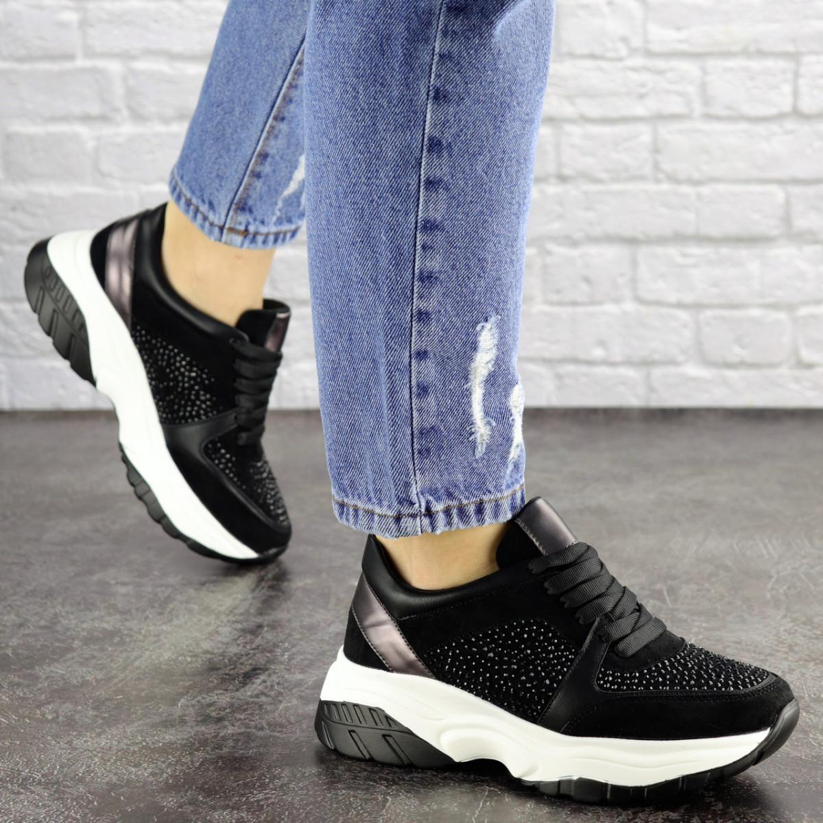 Женские черные кроссовки Pancho 1693 (36 размер)