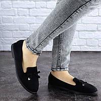 Женские туфли Fashion Dewey 1761 37 размер 23,5 см Черный