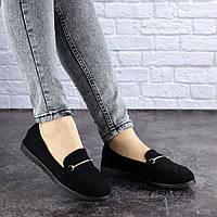 Женские туфли Fashion Randy 1740 37 размер 23,5 см Черный