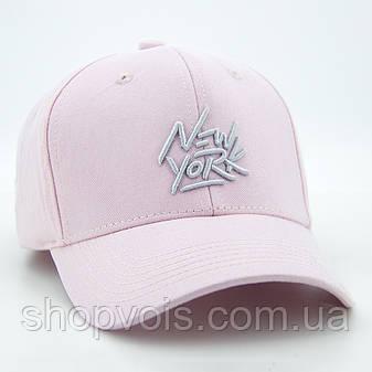 Кепка женская New York WV38 Бейсболка Розовая, фото 2
